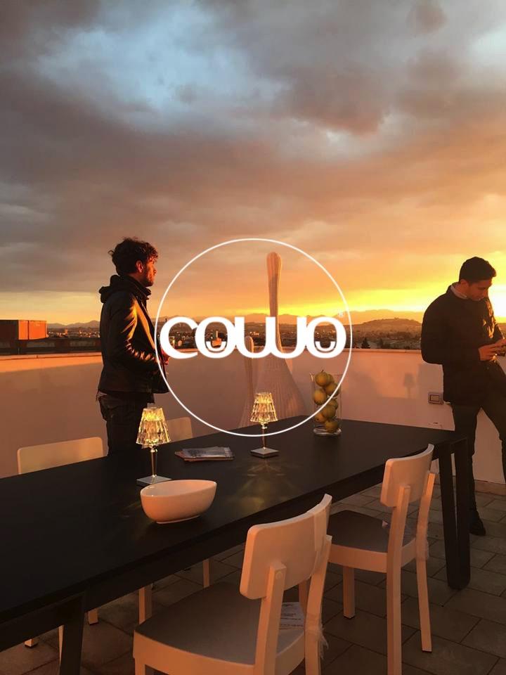 Il terrazzo di Coworking Cagliari Selargius by Cowo