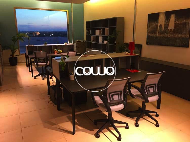 Postazioni lavoro al Coworking Cagliari Selargius